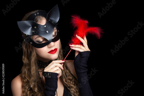 cat woman bdsm role play