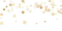 Snow Flakes Falling Macro Vector Graphics