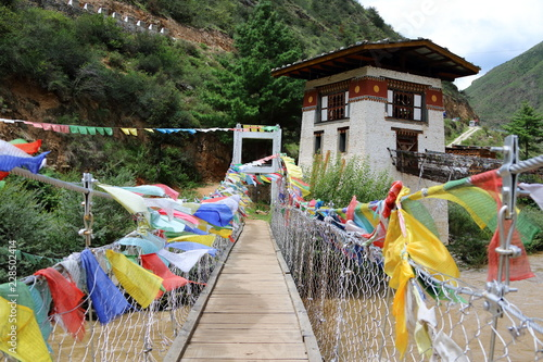 Tachogang Lhakhang Iron Chain Bridge 2