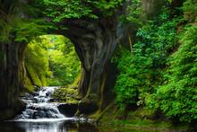 濃溝の滝 風景