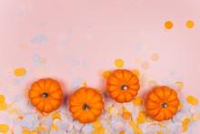 Little Decorative Pumpkins Wit...