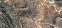 Aerial View Of Fish Canyon In Namibia