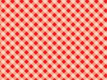 PrintDiagonal Tablecloth Patte...
