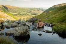 A Girl Bathing In Greendale Gi...