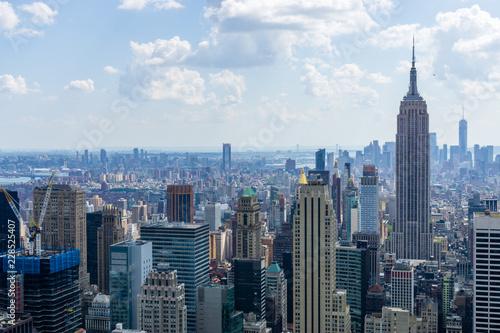 Poster New York Manhattan New York Skyline Panorama