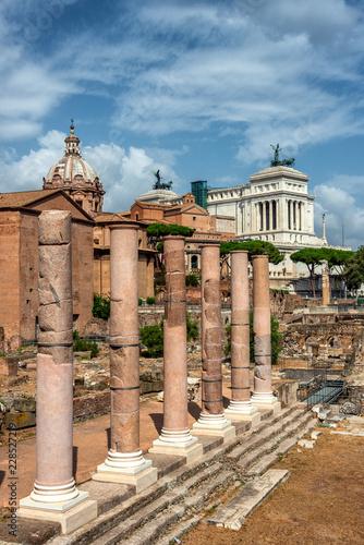 Zdjęcie XXL Perspektywy z Rzymu - Widok Forum Romanum
