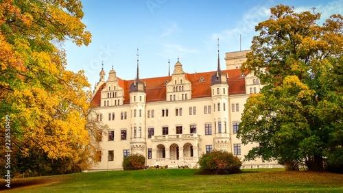Fotografía  Schloss Boitzenburg in der Uckermark bei Templin in Brandenburg