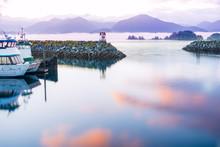 Seascape Sitka Alaska, Waterfr...