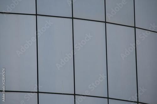 Fototapeta Glasfassade 1 obraz na płótnie
