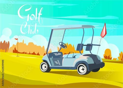 Golf club car sport design