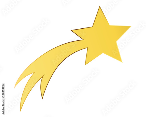 Obraz Shooting Star - fototapety do salonu