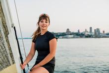 Yaghting Adventure People On The High Sea