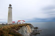 Lighthouse Of Cap-des-Rosiers, Gaspesie, Canada