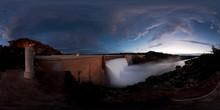 Overflowing Dam, Vanderkloof, ...