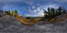 View Over The Village, Wakefield, Quebec, Canada