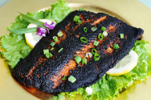 Blackened Salmon Dinner