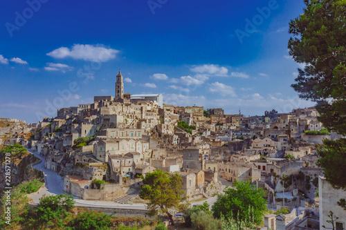 Foto op Plexiglas Historisch geb. View of the sassi of Matera, Italy