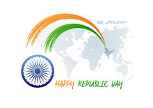 January 26. Republic Day Of In...