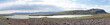 Berg- und Seen-Landschaft auf der Fahrt ins isländische Hochland – Blick auf den Hekla / Süd-Island