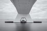 Zeeland Bridge, najdłuższy most w Holandii. - 228596272