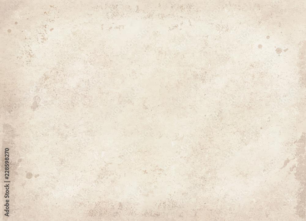 Fototapety, obrazy: 白い古紙
