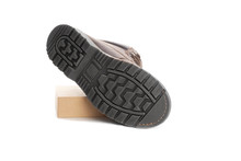 Black Shoe Sole. Isolated On A White