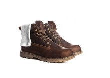 Man Ankle Boots, Brown Color, ...