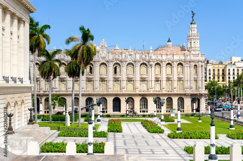 Foto op Canvas Theater The Great Theater of Havana in Cuba