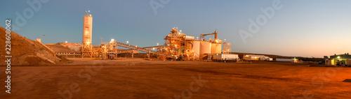 Obraz na plátně Mining Plant
