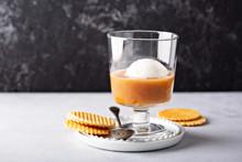 Coffee With Vanilla Ice Cream