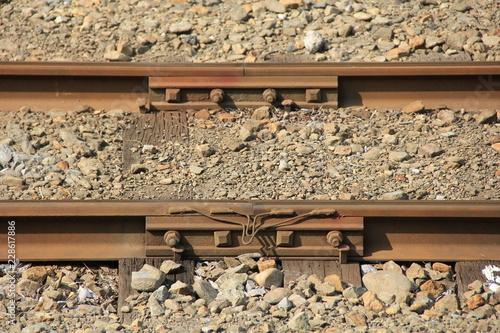 線路の接続部分