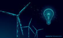 Light Bulb Windmills Idea Busi...