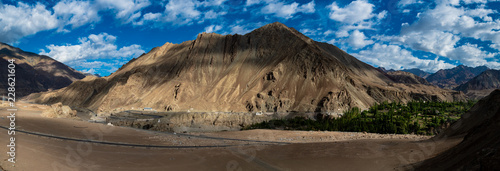Foto op Aluminium Arctica Beautiful landscape on the way to Zanskar road at Himalaya Range, Zanskar Range, Pensi La, Jammu and Kashmir.