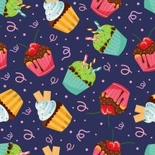 Sweet Snack Seamless Pattern C...