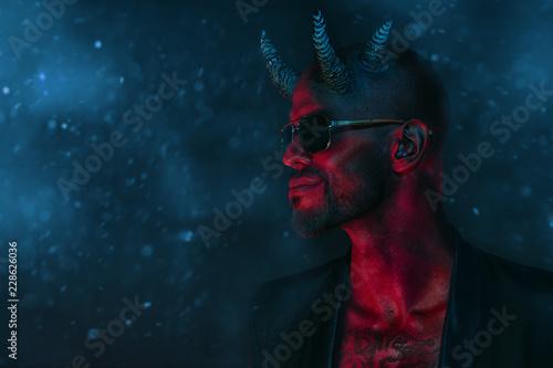 wicked dark demon Fototapeta