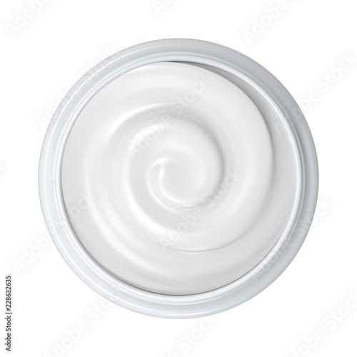 Fotografie, Obraz  cream in open pot