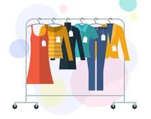 Shopping Sale Concept.