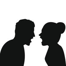 Mann Und Frau Streiten