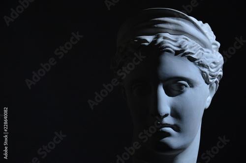 Foto  Statue portrait art