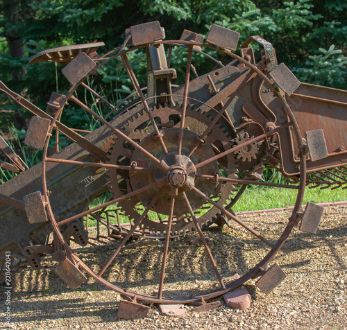 Excellent Antique Tractor Parts Close Up Buy This Stock Photo And Explore Wiring Cloud Xeiraioscosaoduqqnet