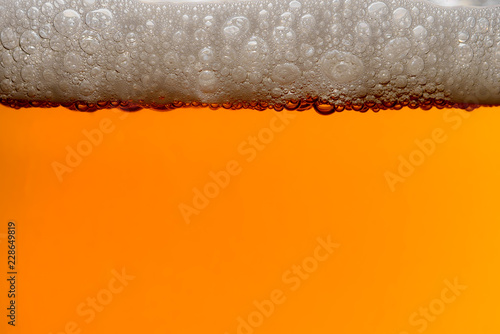 Obraz na płótnie IPA Craft Beer bubbles background texture