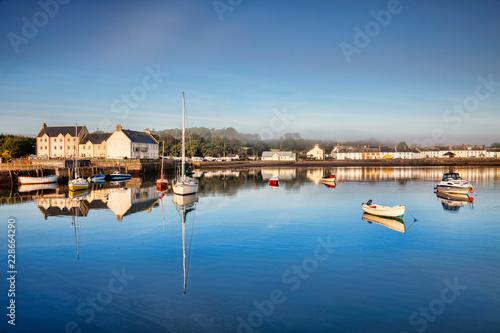 Plakat Szkocka wioska portowa Garlieston, Dumfries i Galloway, Szkocja