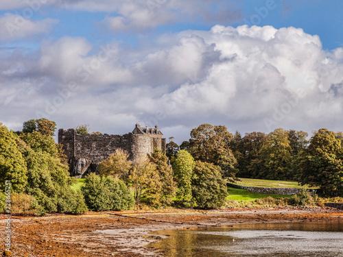 Canvas Print Dunstaffnage Castle, near Oban, Argyll and Bute, Scotland