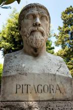 Pythagoras Von Samos Büste Im...