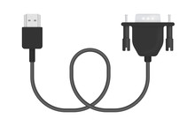 Vector Illustration Of HDMI To...