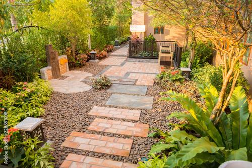 Papiers peints Jardin decorative garden