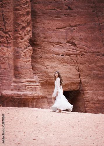 Fotobehang Midden Oosten Petra, Canyon