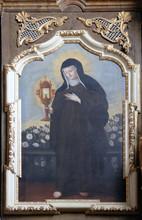 Saint Clare Of Assisi, Altarpi...