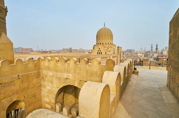 Details of Bab Zuwayla Gate, Cairo, Egypt