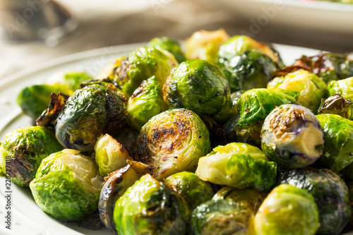 Stickers pour portes Bruxelles Healthy Roasted Brussel Sprouts